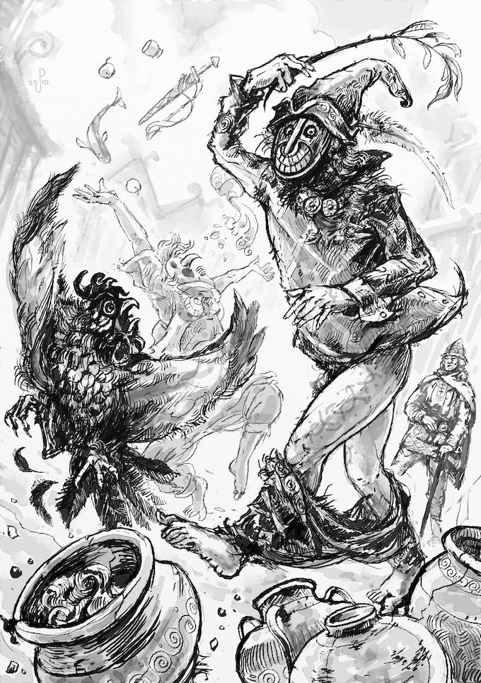 Eurmali trickster R&R (by Jan Pospisil)
