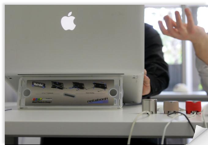 Cablestop = clean, efficient desk