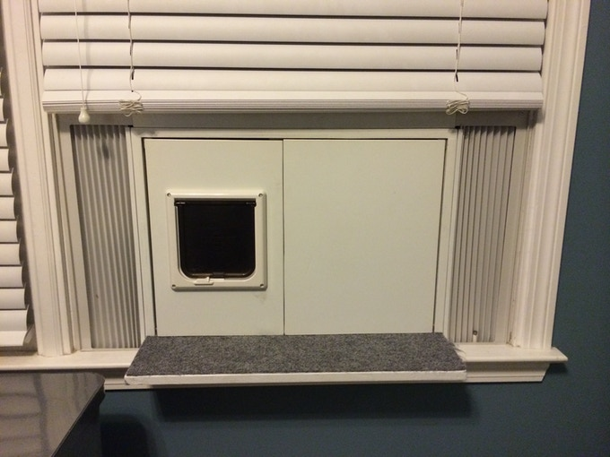 PROTOTYPE: Fits perfectly in your window and blends with window trim