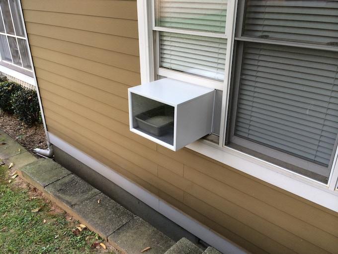 PROTOTYPE: Katio installed exterior view