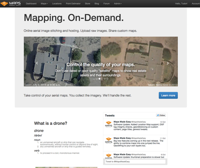 Mapping with Drones by Drones Made Easy — Kickstarter