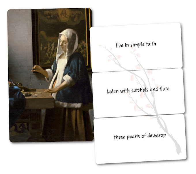 Woman Holding a Balance, by Johannes Vermeer