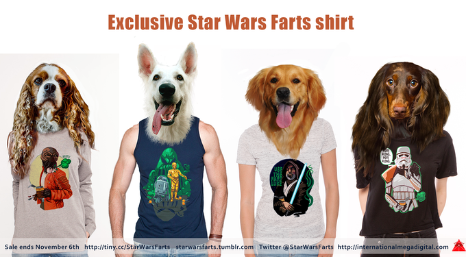 Check out these happy-go-lucky teens in their fresh Star Wars Farts looks.