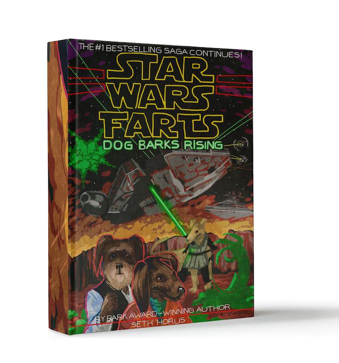 """""""Dog Barks Rising"""" the Star Wars Barks novelization"""