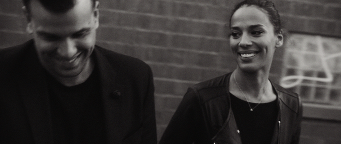 A frame from JOHNNYSWIM's interview
