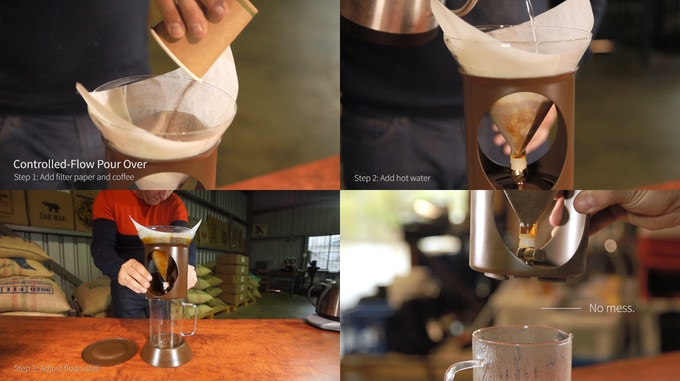 Pour Over method
