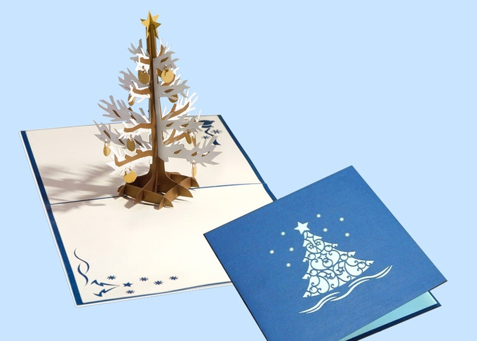 Snowy Christmas Tree