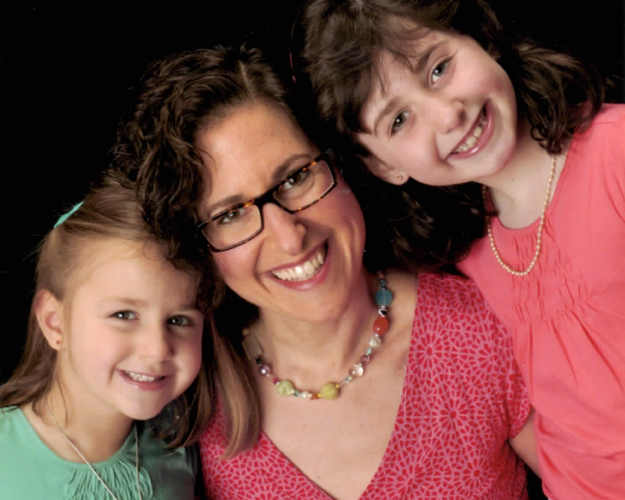 My sweet inspiration -- my girls!