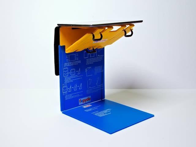 SmartStand for tablets assembled for scanning