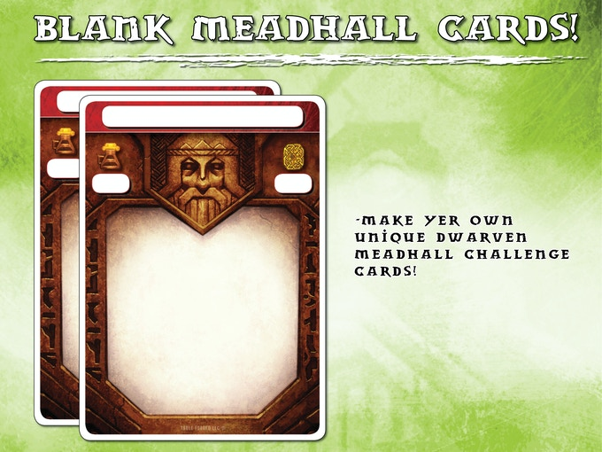 As requested blank meadhall cards!