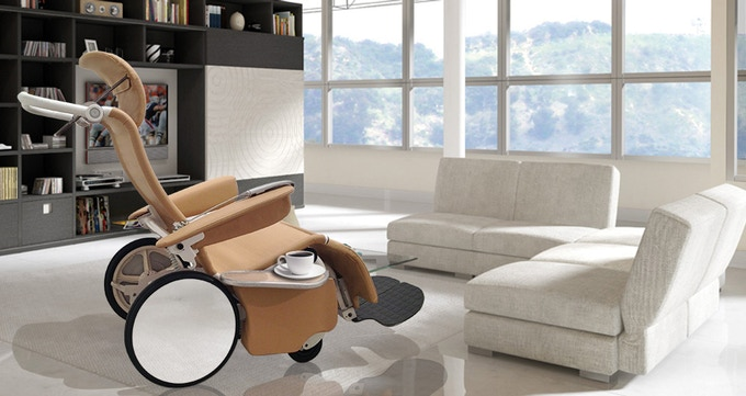 What if the best designed, most comfortable chair in your home also happened to have wheels on it?