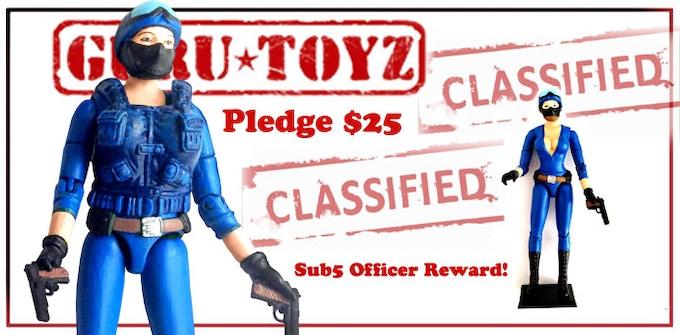 Guru Toyz Sub5 Officer Action Figure Reward!