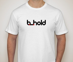 Bhold t-shirt, front