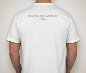 Bhold t-shirt, back