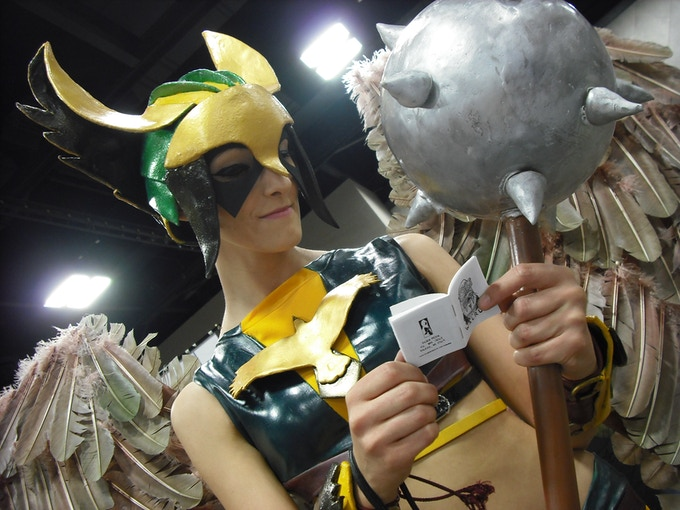 Hawkgirl digs our comics.