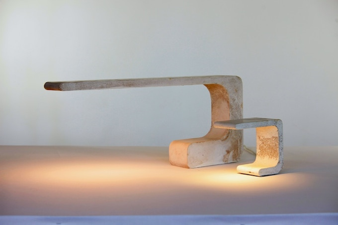 Extrude desk & table lamps
