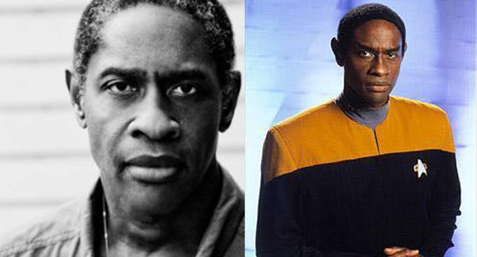 "Tim Russ, ""Tuvok"" from Voyager"