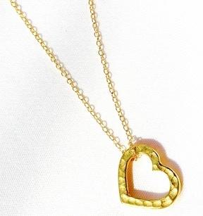 Women's gold-filled Heart pendant necklace (Reward #8)