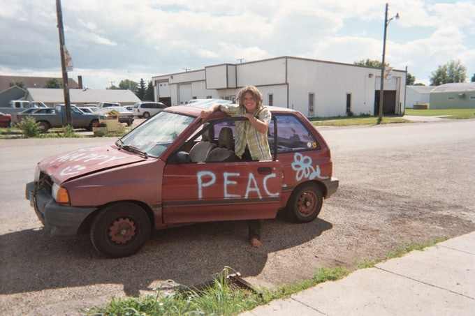 2005:  The beginning of the Peace Love Car (98,000 miles).  With your support we will be able to start fresh in 2015.