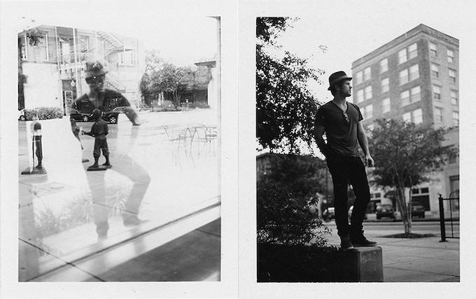 Andy Davis polaroid portraits