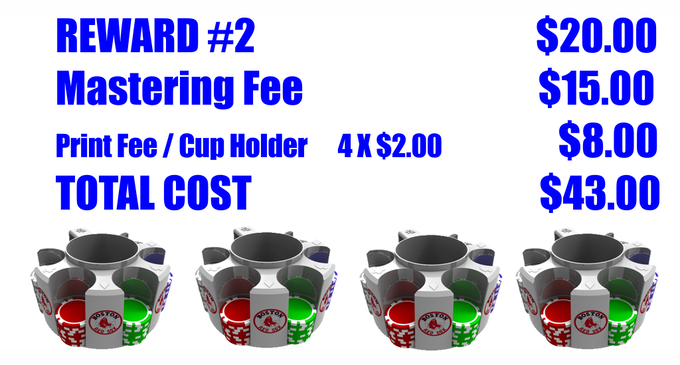 Reward #2 with Custom Printing Option