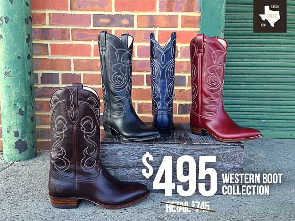 228c193e5ee Ranch Road - We Make Legendary Boots by Sarah Ford — Kickstarter