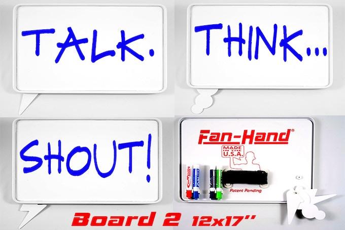 Board 2 (12x17) - Talk, Think & Shout Indicators