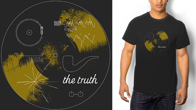 The Truth t-shirt available in Men and Women sizes