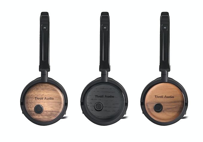 Radio Silenz headphones by TIvoli. In Walnut, Black, or Cherry.