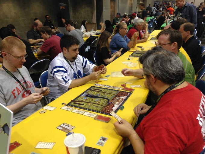 We held a 'Bring out yer Dead' tournament at GenCon in August! It had a great turnout!