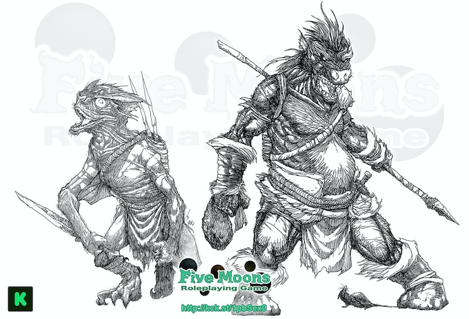 Five Moons RPG by Sean K Reynolds by Sean K Reynolds