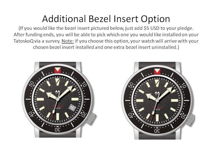 New bezel insert design available for your TatoskoQ!