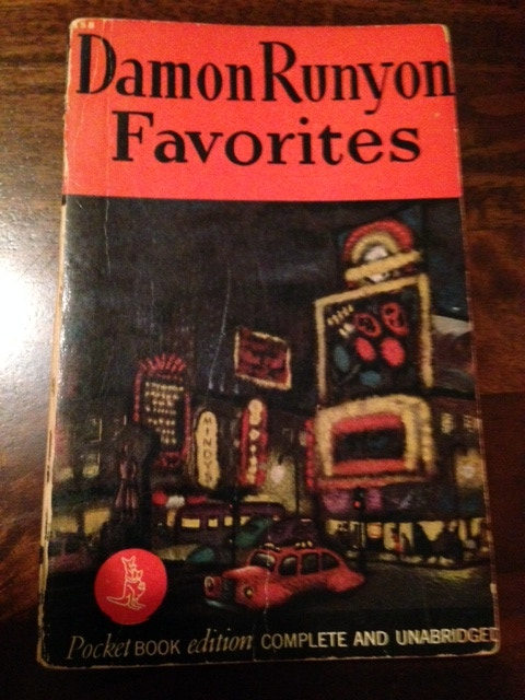 A book of Damon Runyon stories published in 1943. Only one is available!