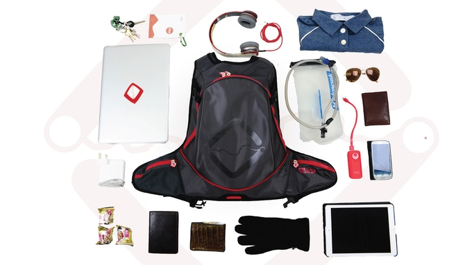 This is an example of what can fit in FUNNELL Sport all together (and there is still some space left!)