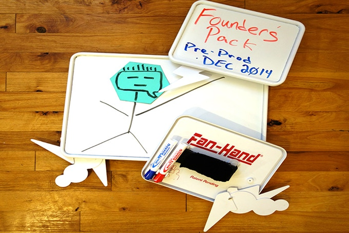 Founder's Pack - (2) Small + (1) Large Pre-Production Boards:  $150