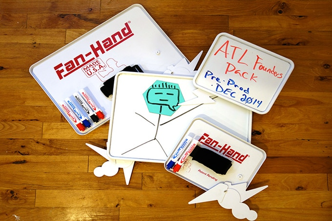 ATL Founder's Pack - (2) Small + (2) Large Pre-Production Boards:  $250
