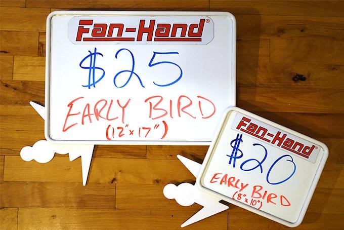 """Early Bird Pricing:  Small (8x10"""") Board $20, Large (12x17"""") Board $25"""