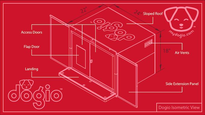 Dogio Isometric View