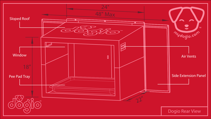 Dogio Rear Isometric View