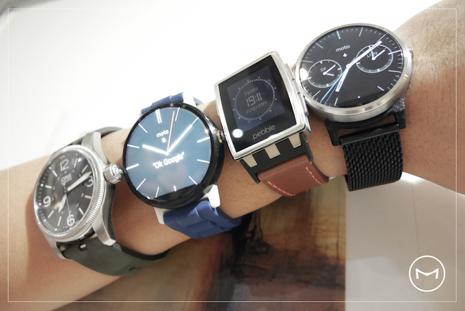 We love watches! From mechanical to e-ink to full colour! XD