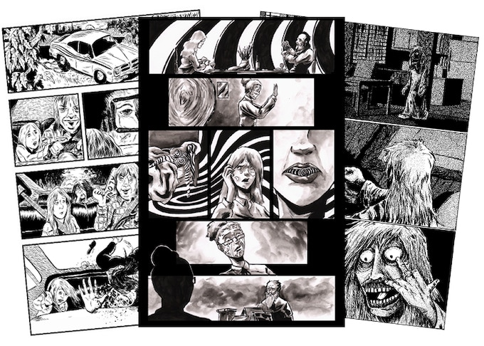 Original page art from Henry Eudy, Kelly Williams and Rafer Roberts. See examples below or request low-res thumbnails.