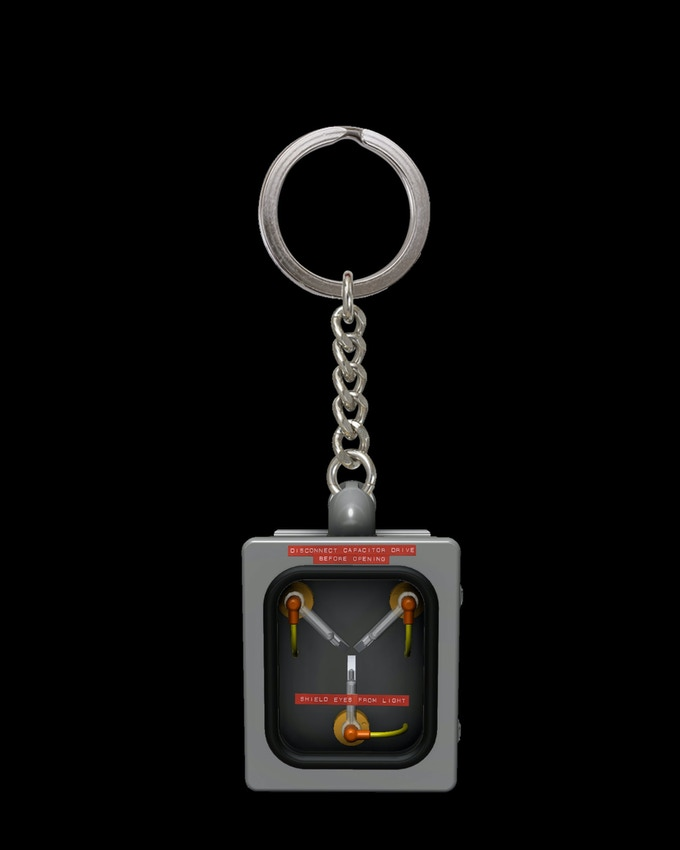 Mini Flux Capacitor Back To The Future Collectible By Mad Geek Collectibles Kickstarter