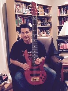 John Patitucci with the original Yamaha TRB JP-2 bass