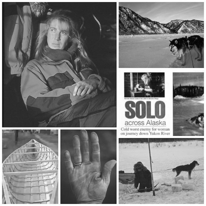 Reinette Senum's 1994 solo Alaskan crossing