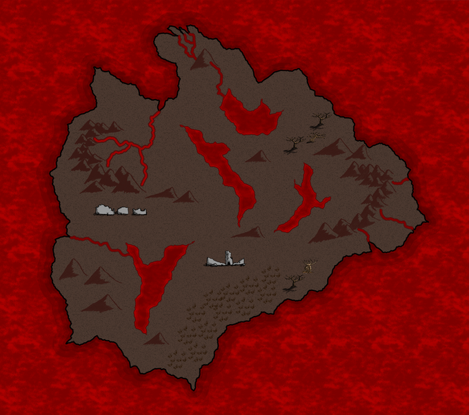 Just changing the color scheme can dramatically change the look of the map