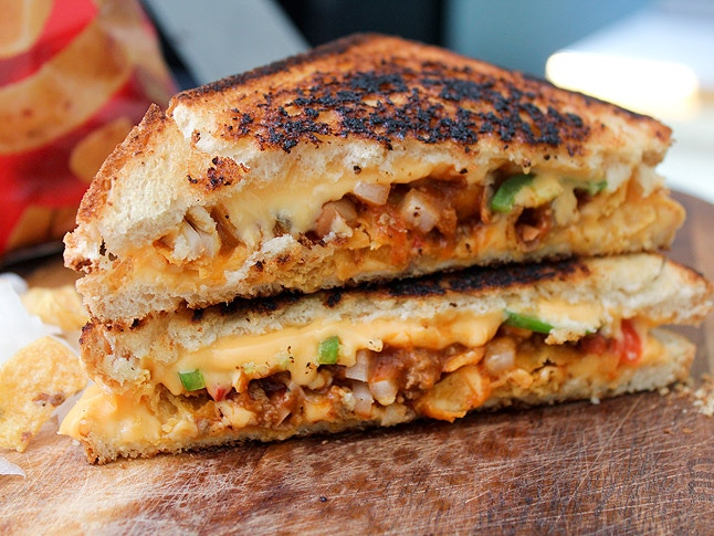 """""""Frito Pie"""" Grilled Cheese"""