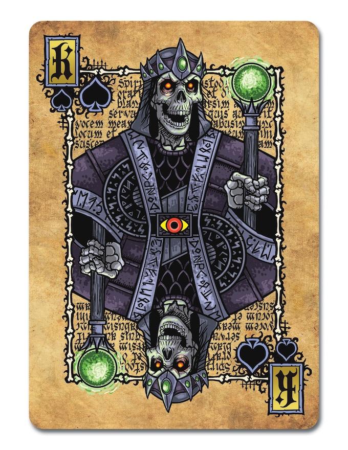 Necromancy Lich, King of Spades