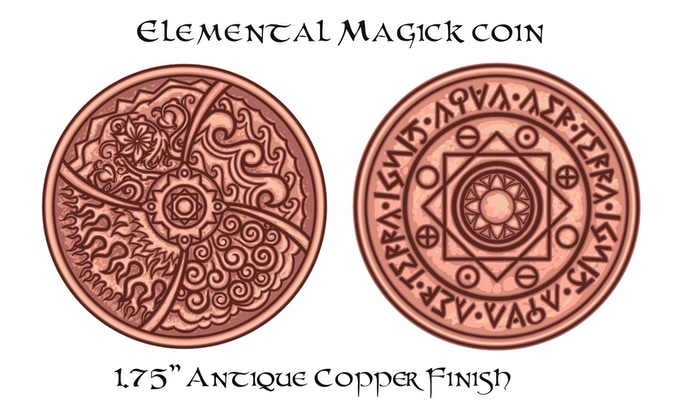 Elemental Magick Coin