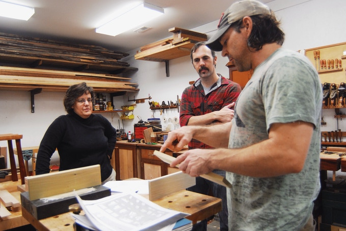 Intro to Hand Tools with Joseph Thompson Woodworks. (Photo by Jen Ray)