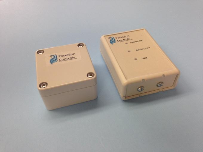 New Water Sensor Design Compared to the Original Prototype Version